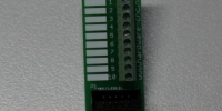 IDC 10p terminal -flat cable>Screw terminal- (panel)
