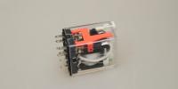 Relais 2x Wissel 7A (24Vdc) +LED